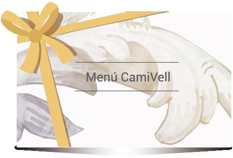 Regalar menú degustación CamiVell